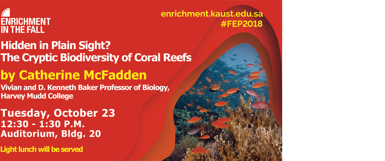Keynote: Hidden in plain sight? The cryptic biodiversity of coral reefs