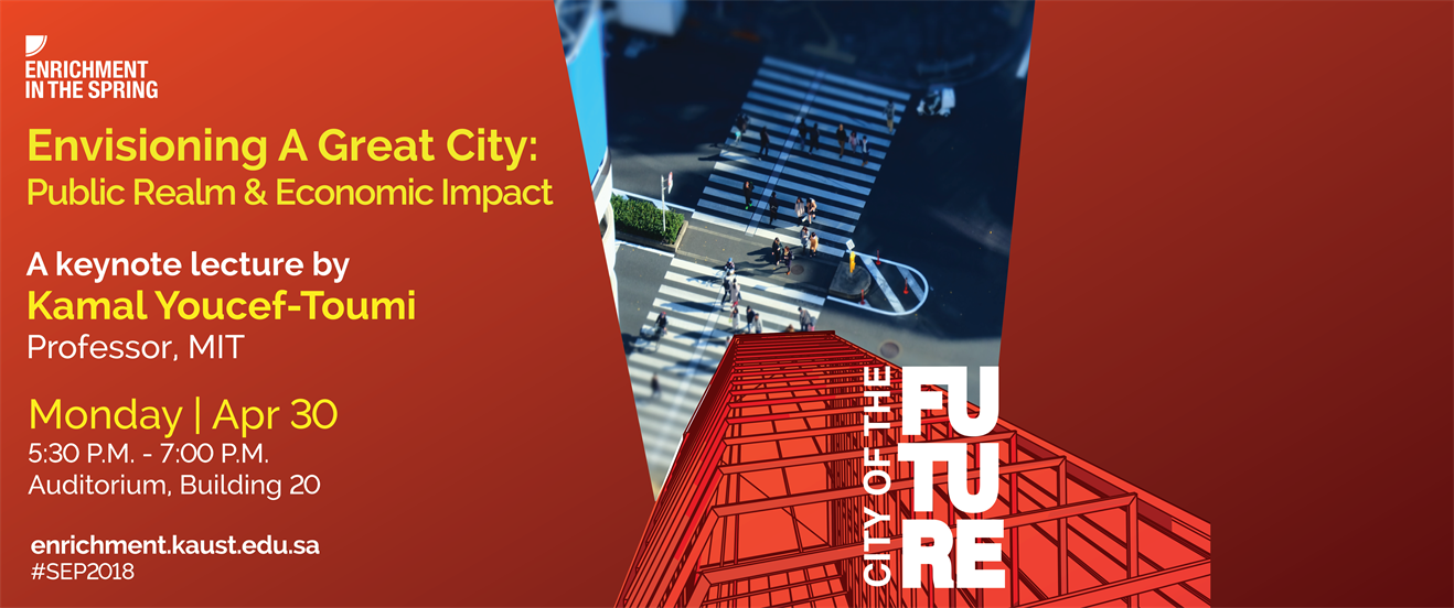 Keynote - Envisioning A Great City: Public Realm & Economic Impact