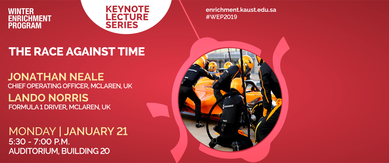 A Keynote lecture by Jonathan Neale & Lando Norris