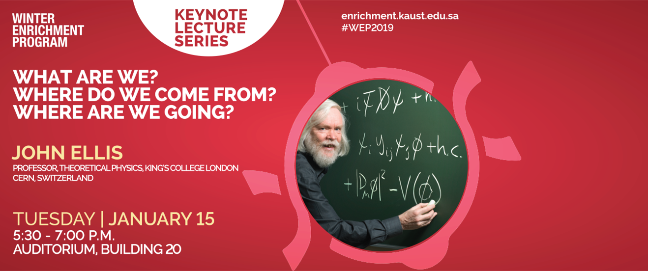 A Keynote lecture by John Ellis