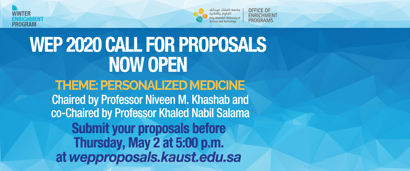 The call for proposals for WEP 2020 is now open!
