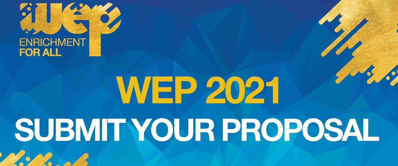 WEP 2021 Call for proposals